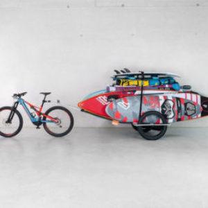 Paddle board transport